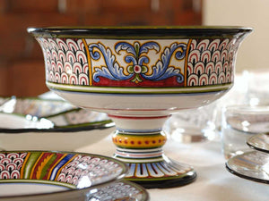 Italian Ceramic Centerpiece from Deruta