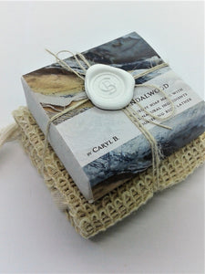 Fragrance Soap with Natural Sisal Cloth by Caryl B
