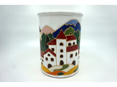Tuscan Scene Canister