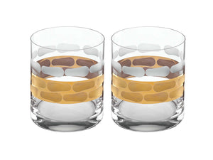 Truro Double Old Fashion Set of 2 by Michael Wainwright