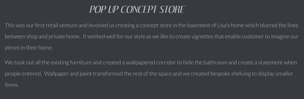 Pop Up Concept Store Dust Cool Best Way To Dust Furniture Concept