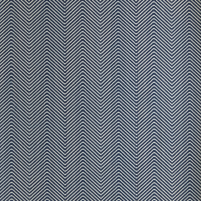 Barneby Gates wallpaper - Chevron, Ink blue