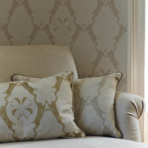 Barneby Gates wallpaper - Boxing Hares, Stone