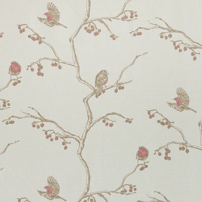 Barneby Gates fabric - The English Robin, Parchment