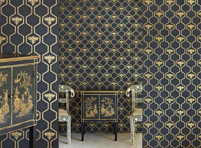 Barneby Gates wallpaper - Honey Bees