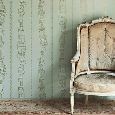 Barneby Gates wallpaper - Chairs
