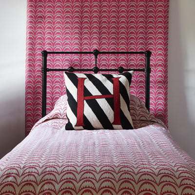 Barneby Gates fabric - Arcade, Raspberry