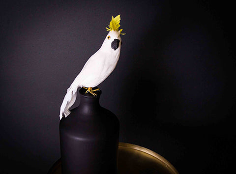 Artificial Cockatoo small - 20% Off