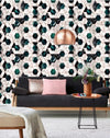 Hexa Jade Metallic Wallpaper - Manhattan Metallic Collection- Mind the Gap