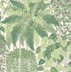 Fern - Leaf Green & Olive