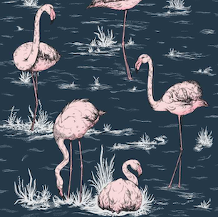 Flamingos - Ink