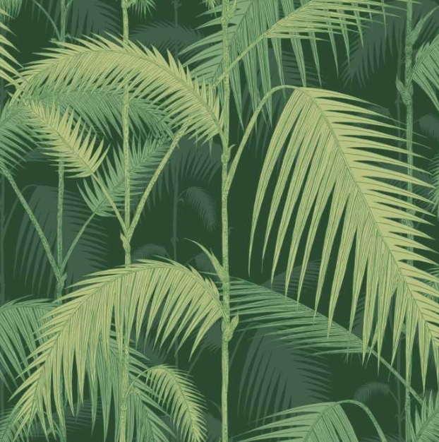 Palm Jungle - Forest Green