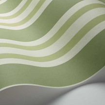 Polo Stripes - Leaf Green