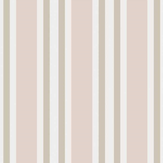 Polo Stripes - Soft Pink