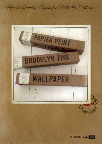 Brooklyn Tins wallpaper by NLXL - Tin 06