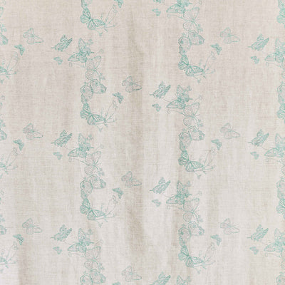 Barneby Gates fabric - Butterflies, Ice Blue
