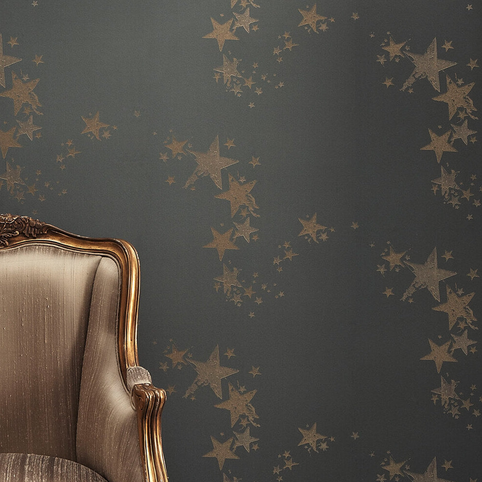 Barneby Gates wallpaper - All Star Wallpaper, Gunmetal