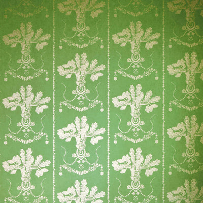 Barneby Gates wallpaper - Lucky Charms, Georgian Green