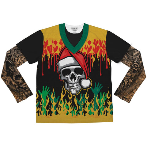 Ugly Christmas Heavy Metal Shirt