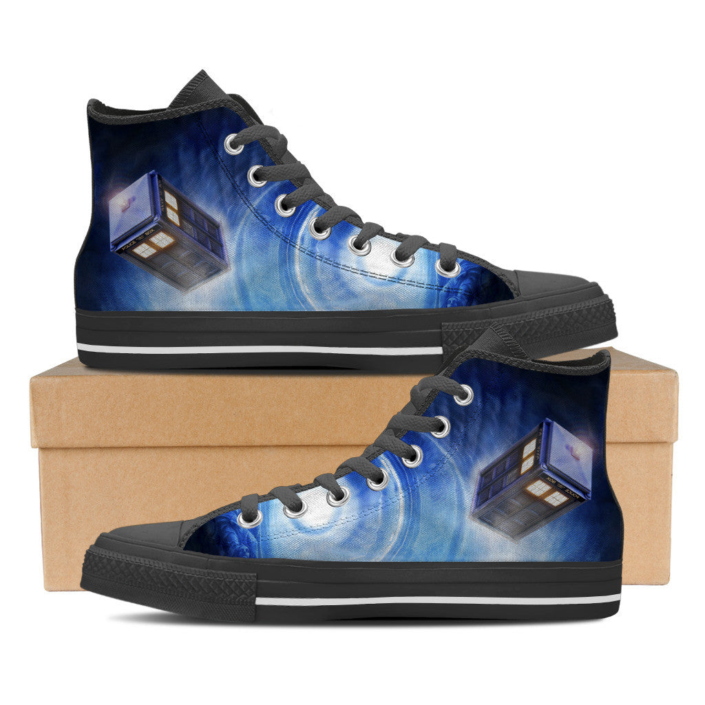 Doctor Who Mens High Top Shoe