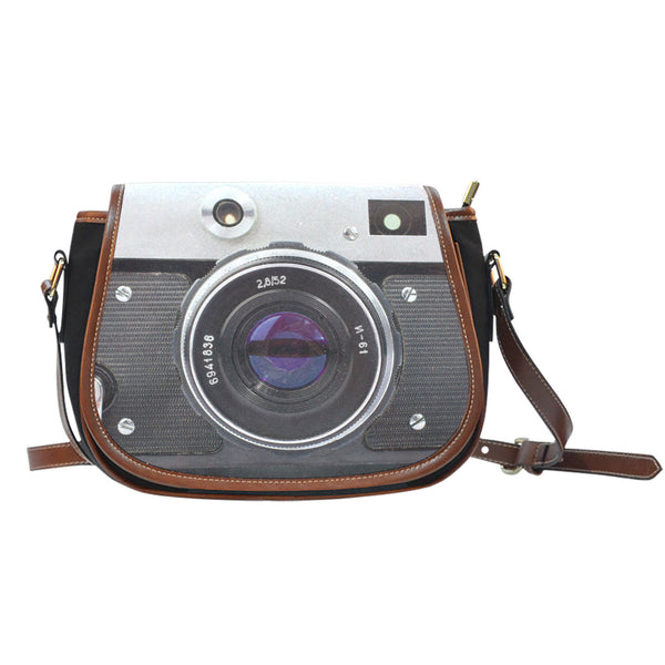 Love Photography Camera Memories Saddle Bag