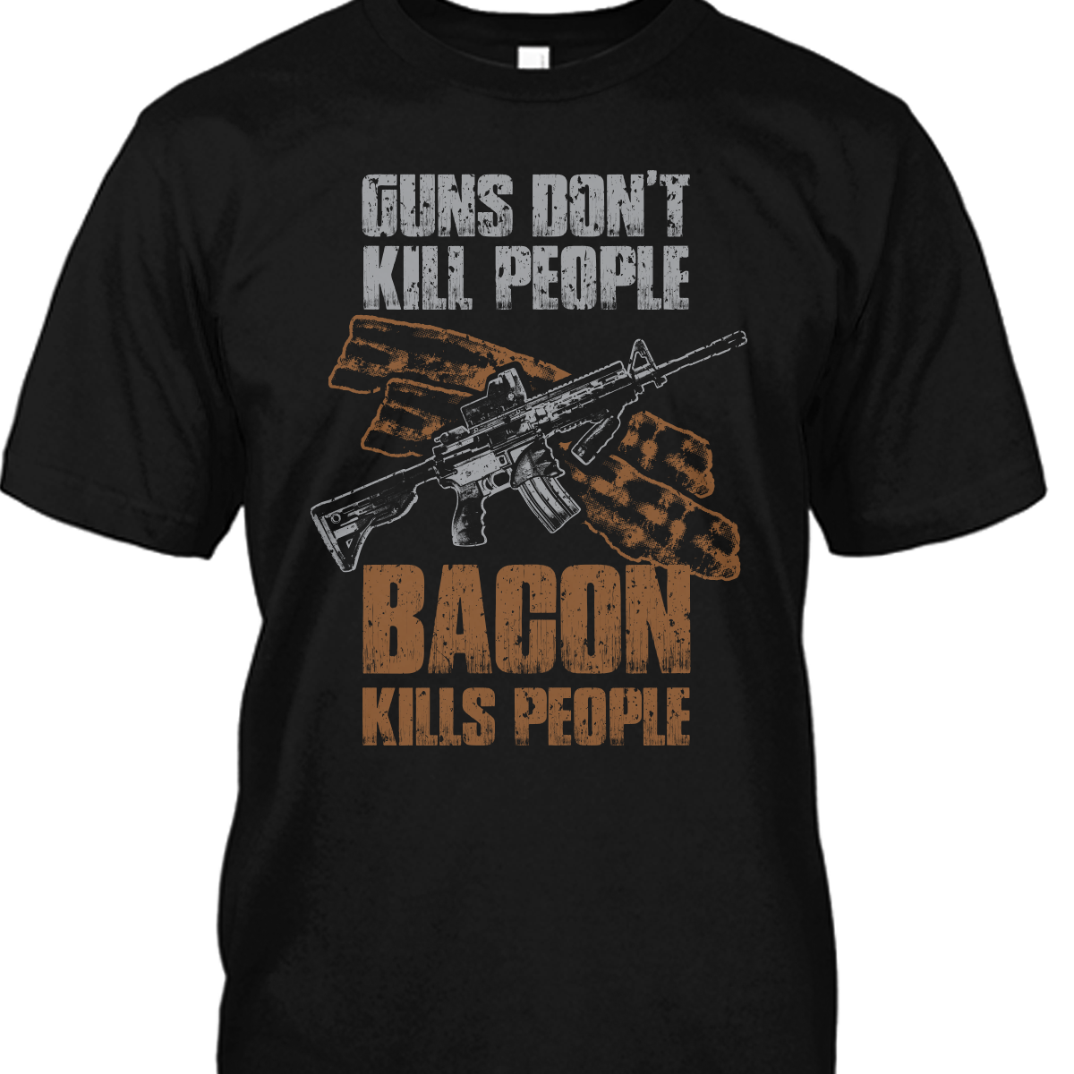 Bacon Kills People Shirt