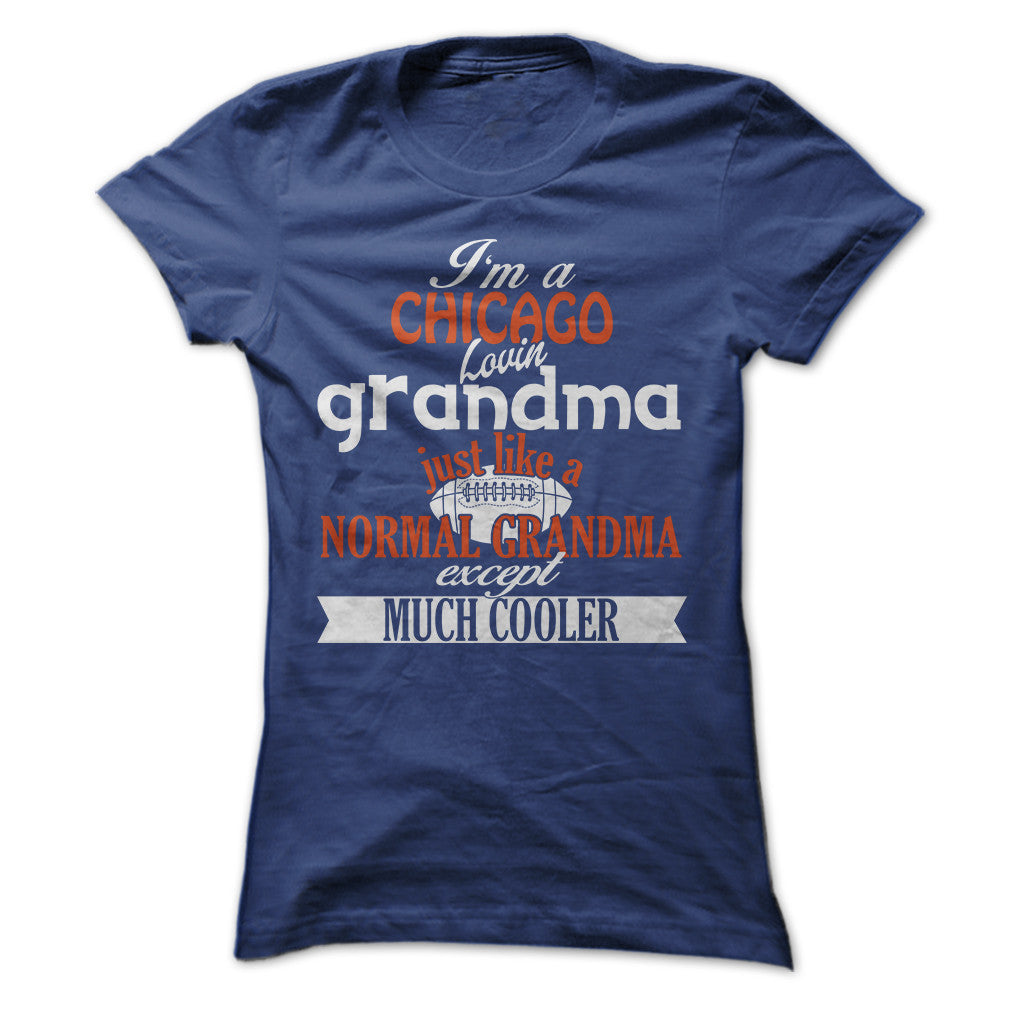Cool Chicago Football Grandma