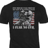 Fear No Evil Skull Shirt