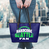 Seattle Football Leather Tote