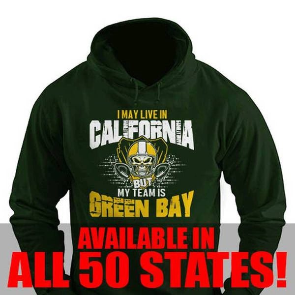 I May Live in Delaware but My Team is Green Bay