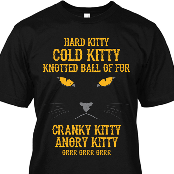 Bad Kitty Cold Kitty Premium Cotton Shirt