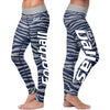 Dallas Football Striped Leggings