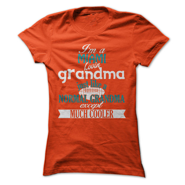 Cool Miami Football Grandma
