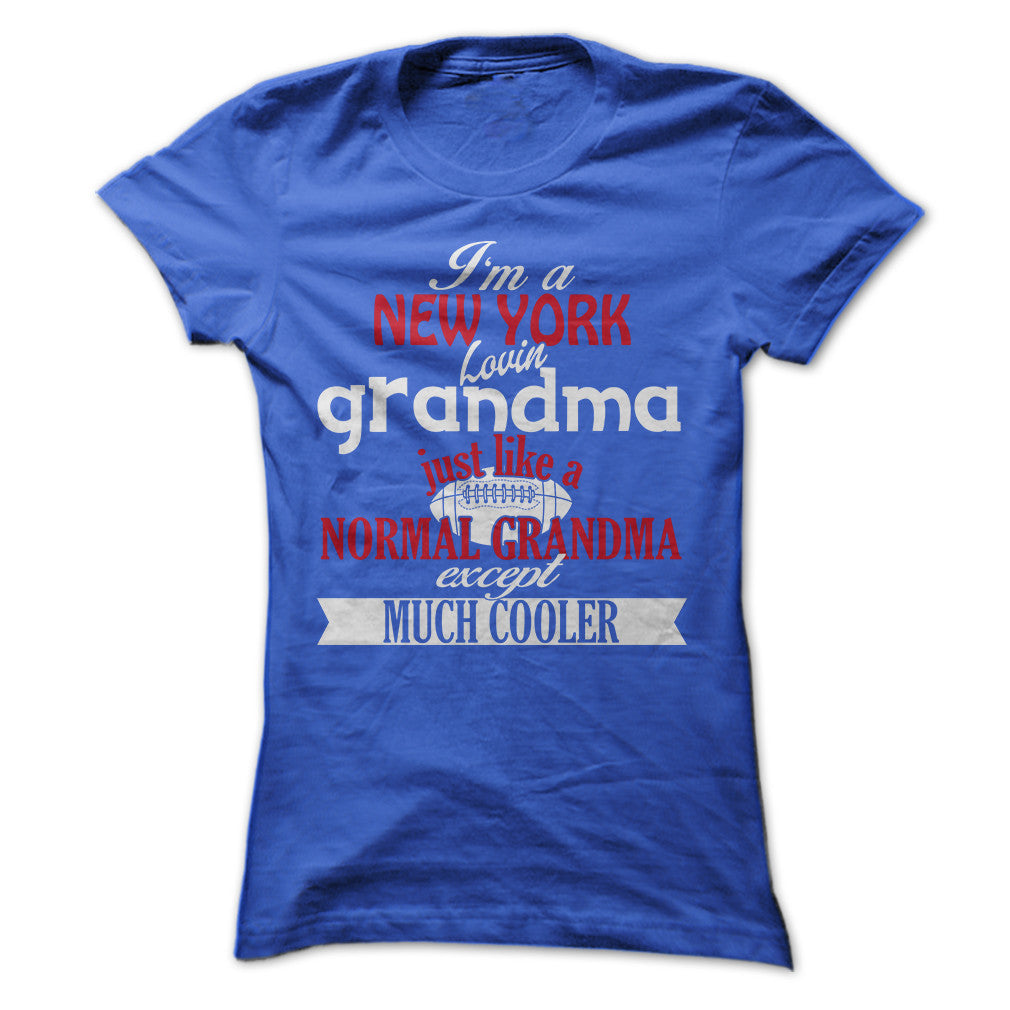 Cool New York Football Grandma