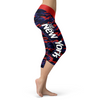 New York Giants Football Camo Capris