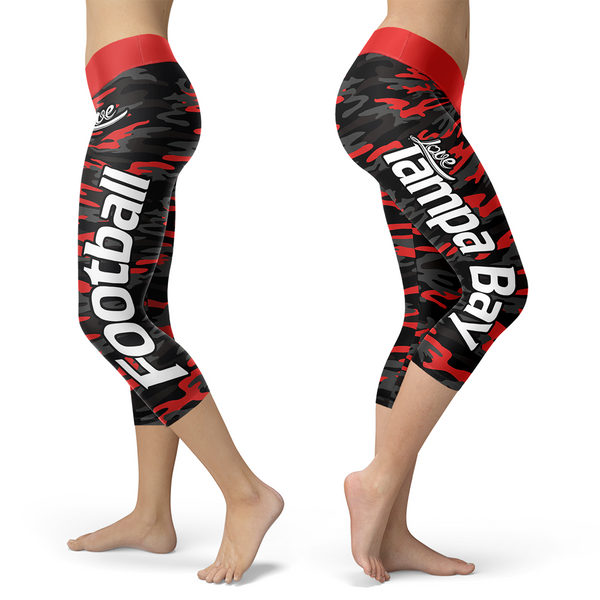 Tampa Bay Football Camo Leggings
