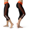 Cincinnati Honeycomb Stripe Football Capris