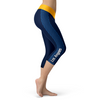 Los Angeles Chargers Honeycomb Stripe Football Capris
