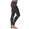 New Orleans Football Plaid Leggings