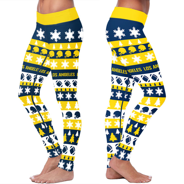 Los Angeles Football Lovin Kisses Leggings