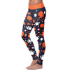 Chicago Ugly Christmas Random Football Leggings