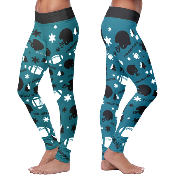 Philadelphia Football Plaid Leggings