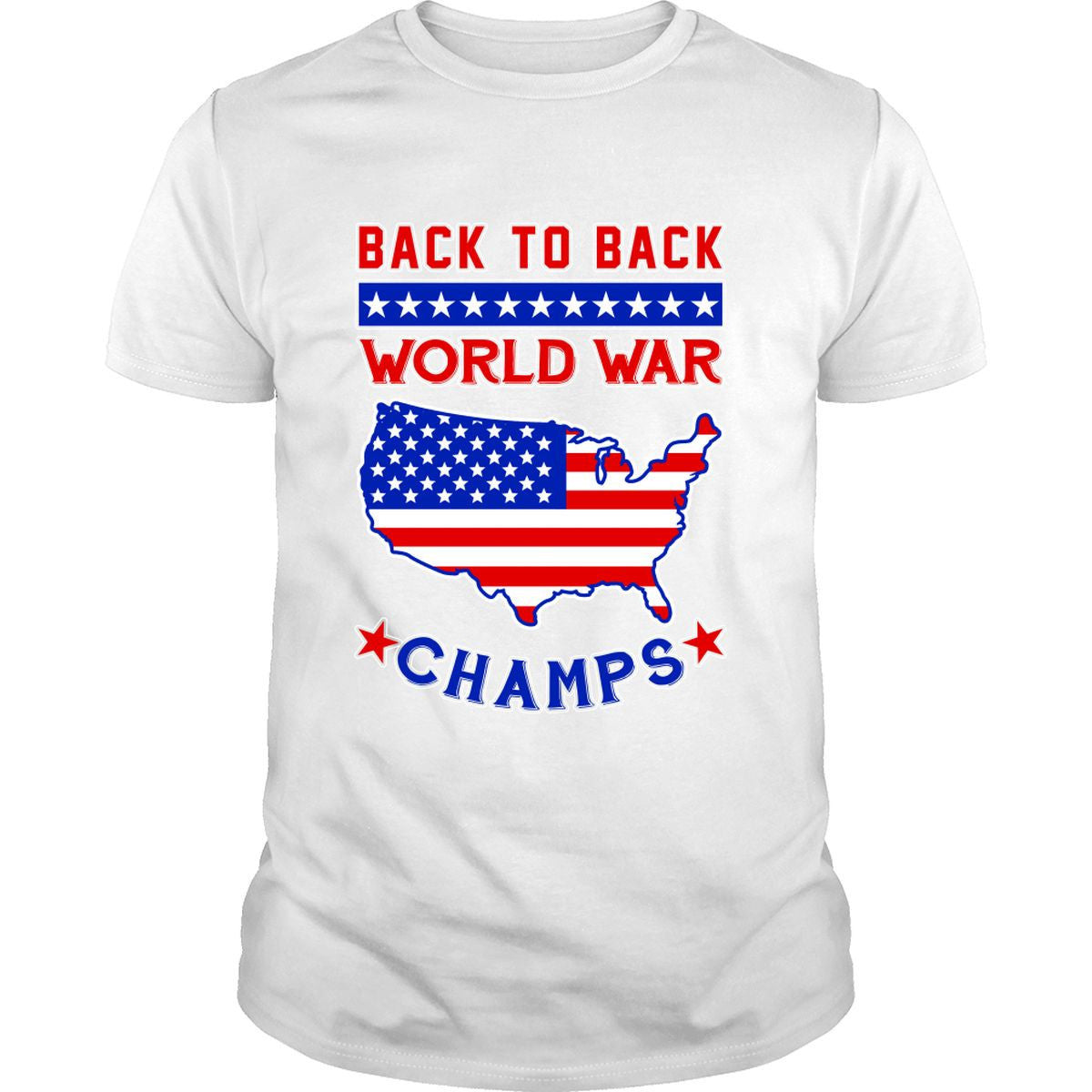 Back To Back World War Champs Shirt (White)