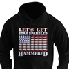 Star Spangled Hammered Beer Flag Shirt