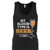 Blood Type Beer (IV) Premium Cotton Shirt