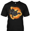 Flaming Motorcycle Premium Cotton Shirt