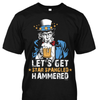 Let's Get Star Spangled Hammered Shirt