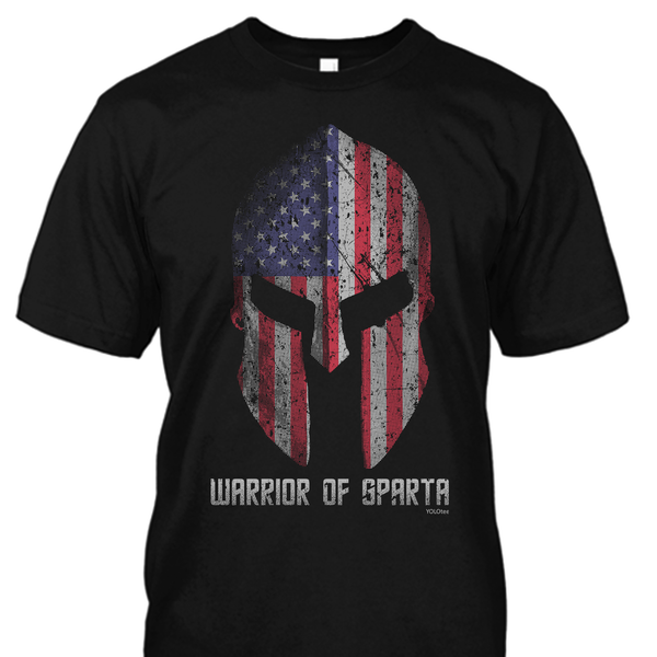 Warrior of Sparta Shirt