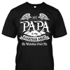 My Papa is My Guardian Angel Shirt