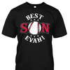Best Son Evah Baseball Mom Shirt